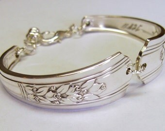 Bracelet made out of Antique Silverware