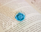SALE Mama Belles Vintage Inspired Turquoise Blossom Ring