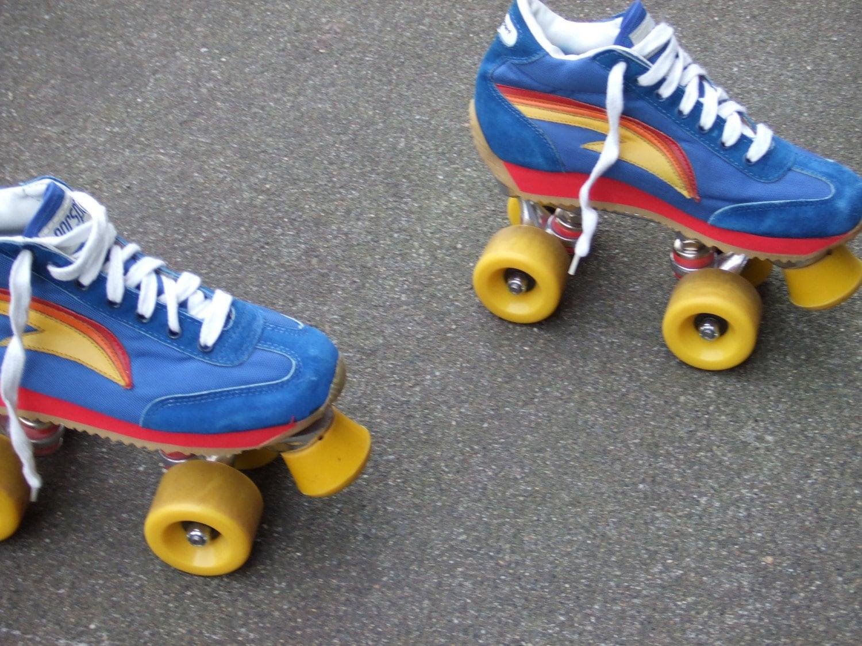 Roller skates in the 70s -  Zoom
