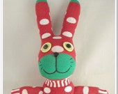 Super Deal Christmas Handmade Sock Rabbit/bunny Stuffed Animal Doll Baby Toys