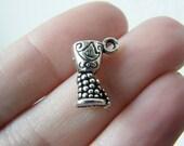 BULK 50 Goblet charms tibetan silver FD8