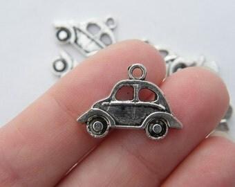 6 Car charms tibetan silver TT31