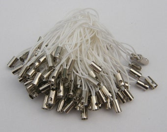 20 White and silver cell phone straps or cords 50mm
