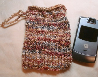 Cell Phone or Gadget Drawstring Bag or Pouch, Also use For Makeup or Jewelry