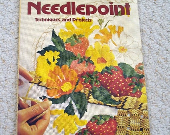 Needlepoint Techniques and Projects, a Vintage Sunset  Book