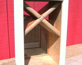 Reclaimed Wood Large Custom Rustic Shadowbox