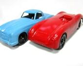 Tootsie Toy MERCEDES 190 sl and PORSCHE SPYDER - 50s or 60s
