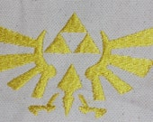 Zelda Tri-Force Machine Embroidery Design