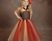 Autumn Tutu Dress Thanksgiving Dress Newborn -5t