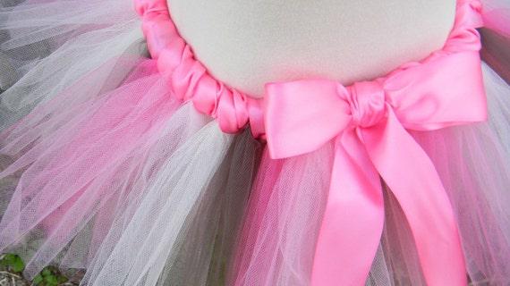 Add ribbon around the waist of your tutu