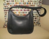 Vintage Coach Black Leather Ergo Satchel ---SALE---