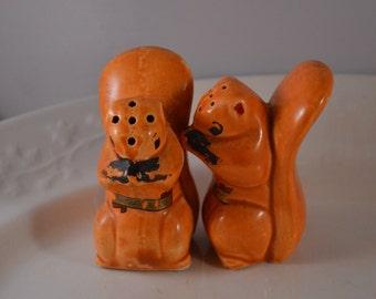 Vintage Squirrel Salt & Pepper Shakers Carlsbad Caverns