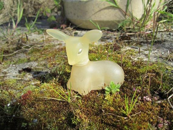 Vintage Pretty Fawn Avon Perfume Bottle