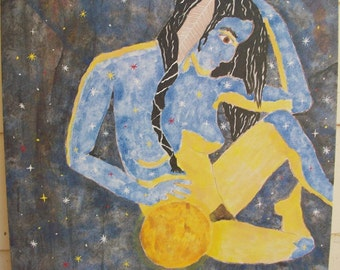Moon Goddess - Original Painting