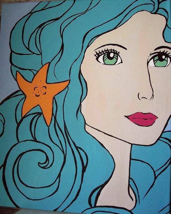 "Art Painting ""Mermaid"""