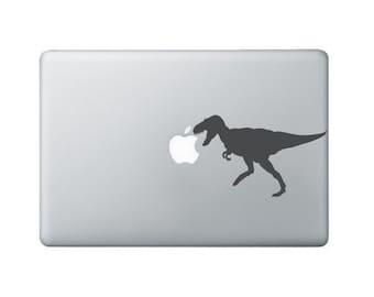 Tyrannosaurus Rex Laptop Decal - T-Rex Macbook Decal - Dinosaur Laptop Sticker