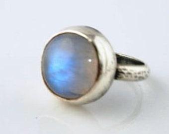 Moonstone Sterling Ring