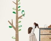 Kids Growth Chart Tree - Children's Vinyl Wall Sticker