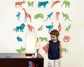 Wall Decals - Alphabet Animals