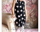 "Sierra Bella ""Ballet""  Boutique Pillowcase Dress LAST ONE size 7"