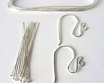Sterling Silver Earring Kit