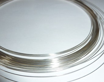 5 feet Fine Silver Wire - 24, 26, 28 or 30 Gauge - Tagt Team