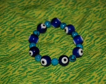 Evil Eye Bracelet -Great Holiday Gift-