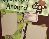 Monkeyin' Around 12x12 Page Kit