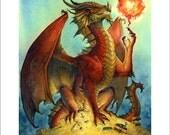 Dragon Magic Print