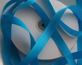 5/8inch Turquoise Grosgrain Ribbon - 5 yards - Wedding Ribbon - Baby Shower Ribbon - Embellishment