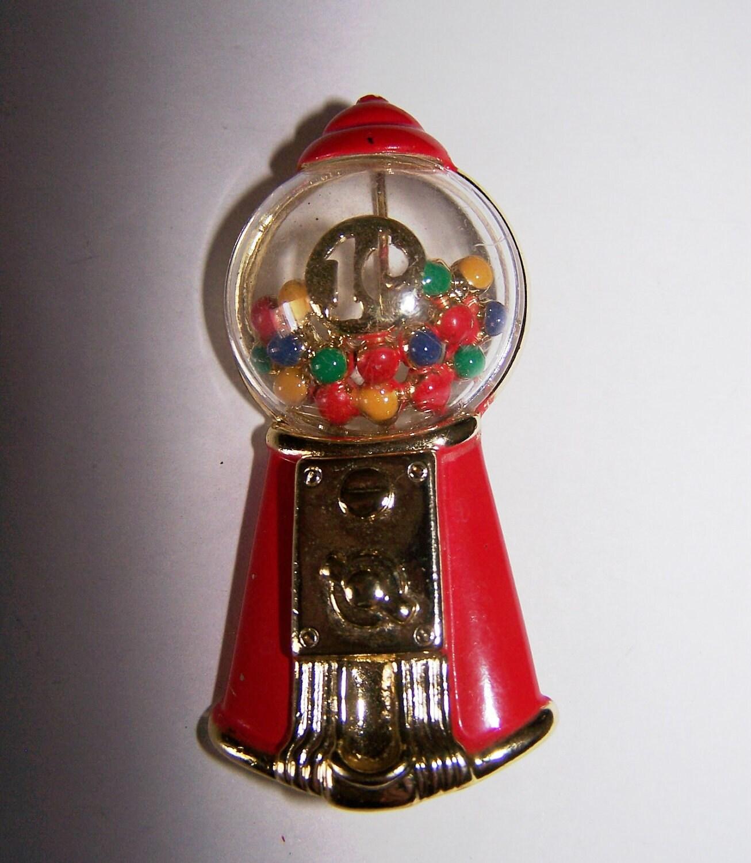 1 cent bubble gum machine