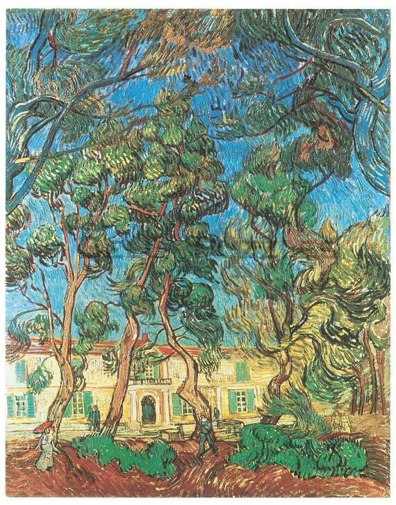 Wooden jigsaw puzzle. ASYLUM. Van Gogh. Impressionist puzzle. Impressionism. Wood, handcut, handcrafted, collectible. Bella Puzzles.