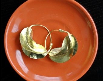 Medium Fulani Earrings - Bronze