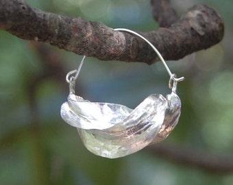New Model - Small Fulani Earrings - Sterling Silver