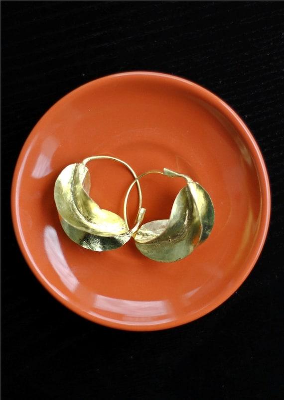Medium Fulani Earrings - Bronze