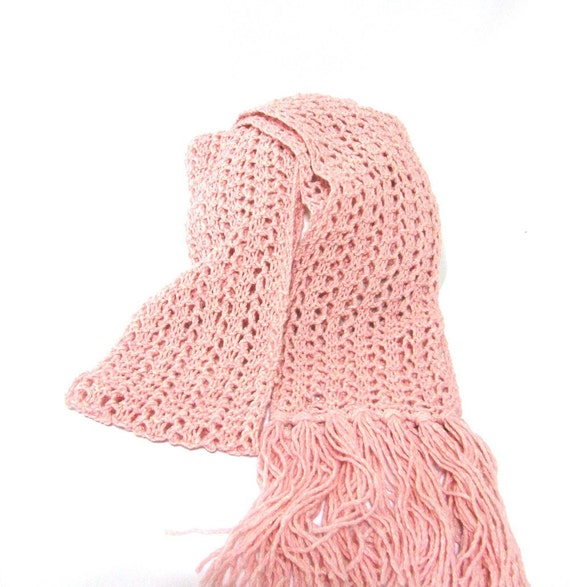 Sale Just Pink Scarf, Hand Knit Scarf, Knit Scarf, Lacy Scarf, Silk Scarf, Knitted Scarf, Womens Scarf, Fashion Scarf, Fiber Art, Pink Scarf