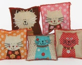Three TonyToy Catnip Cloth Cat Toys