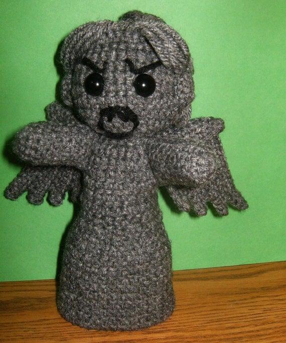 Amigurumi Weeping Angel Pattern : Items similar to Amigurumi Weeping Angel on Etsy
