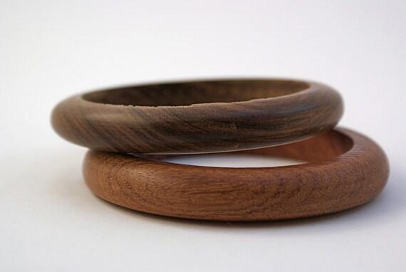 Super 70's Wooden Bangle Bracelets