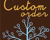 Custom Order for Susan - Burp Cloths