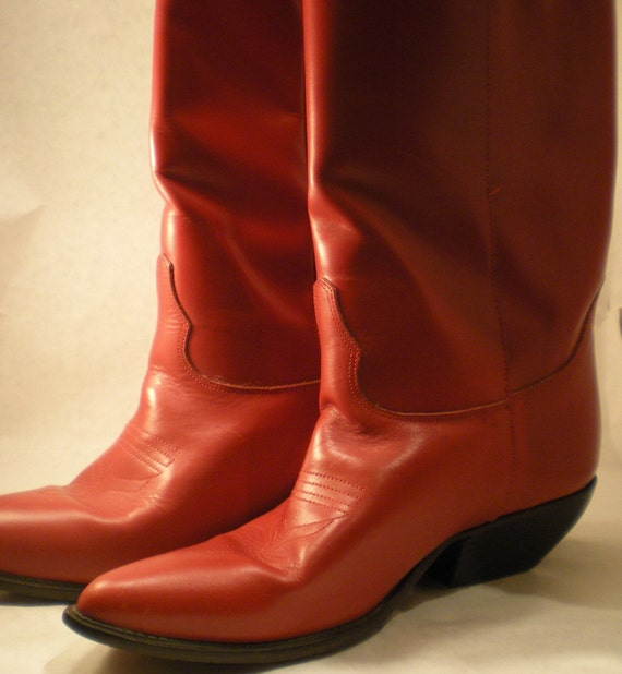Footloose Times Red Cowboy Boots
