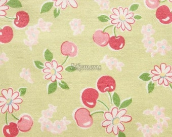 Pastel cherry  - Green by Atsuko Matsuyama - Printed in Japan