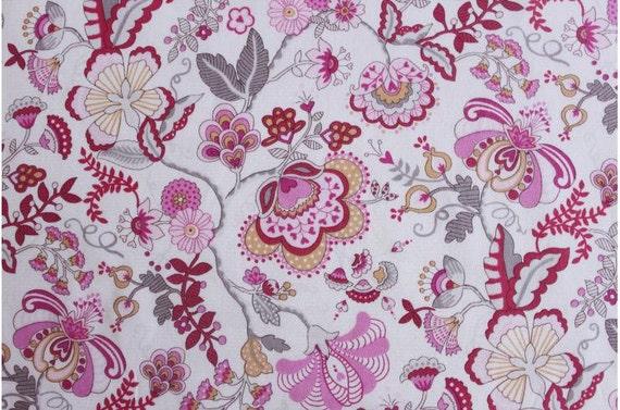VENTE - Liberty tana lawn imprimé au Japon - Mabelle - rose mix