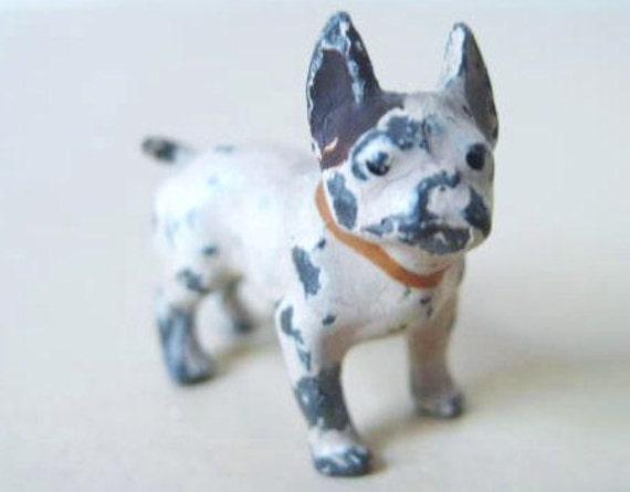 SALE - Cast Metal Boston Terrier Figurine - free shipping