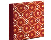Nauli CD-Cover red yellow Batik with red linen
