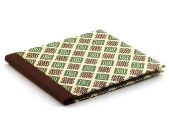 Nauli CD-Cover Classic brown green checked