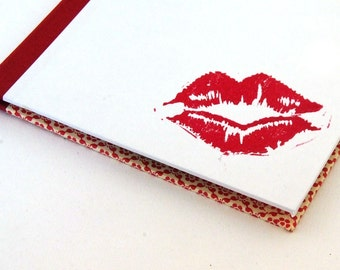 Nauli handmade CD Case Kiss from a Pin-Up Girl