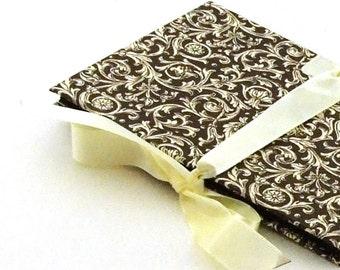 Zigzag- Photo- Book brown Renaissance ornament Accordion Book