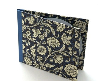 Nauli handmade Cd Case Renaissance Flower Blue, DVD packaging