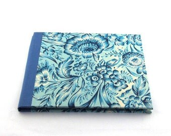 Nauli CD folio Indian Flowers blue